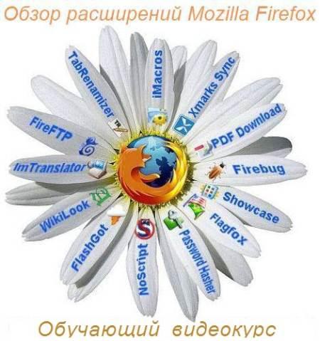Название: Видеокурс: Обзор расширений Mozilla Firefox Издательство