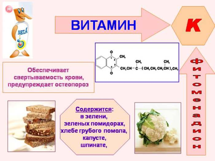 Филлохиноны (витамин К)