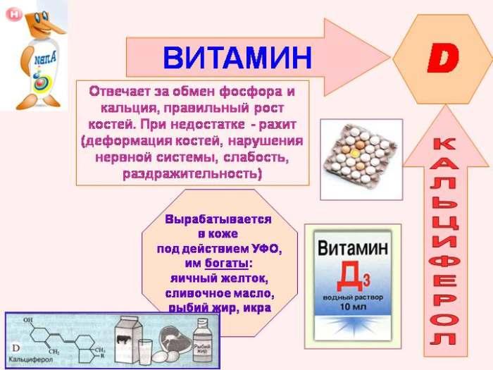 Кальциферолы (витамин D)