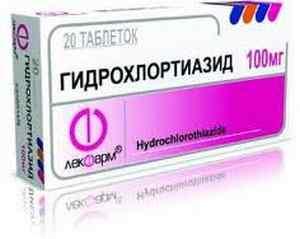 Дихлотиазид - тиазидный диуретик