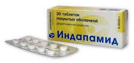 Индапамид - тиазидоподобный диуретик