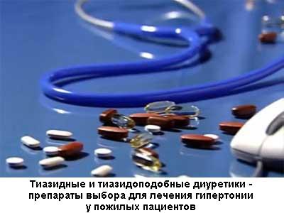 Тиазидные диуретики - общая информация