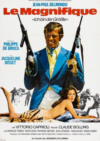 Великолепный / Le magnifique (1973)
