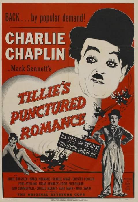 Прерванный роман Тилли / Tillie's Punctured Romance (1914)