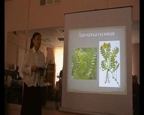Видео-лекция по лекарственным травам (Т.Красновская)